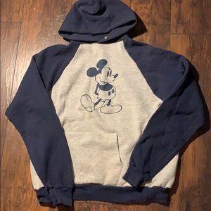 Vintage 80s Disney Mickey Mouse Hoodie